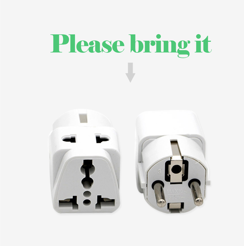1PC European EU Plug Adapter High Quality Practical Universal US UK AU to EU Plug Travel Power Adaptor Electric Charger Sockets (3)