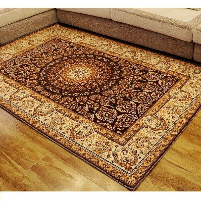 Tapis européen de porte de plancher de Style de cour pour la Table de thé de salon/tapis de chaise tapis de plancher pour le tapis de salle de bains tapis moderne de tapis de salle de bains