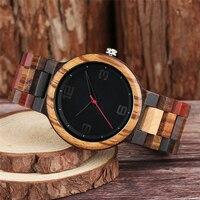 Reloj masculino madera color 4