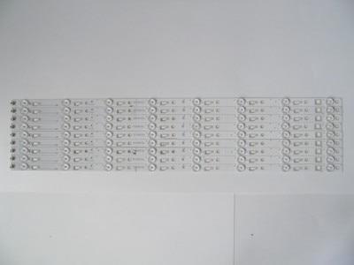 1set=12pieces For TCL L65E5800A-UD Led Backlight TCL_ODM_650d30_3030C_12X8_V2 TCL 4C-LB650T-YH3  8 Lamps