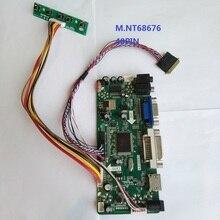 Kit for B140XW03 V1 1366X768 Monitor Panel LCD VGA 14″ DVI HDMI Controller board 40pin M.NT68676 LED DIY AUO Display