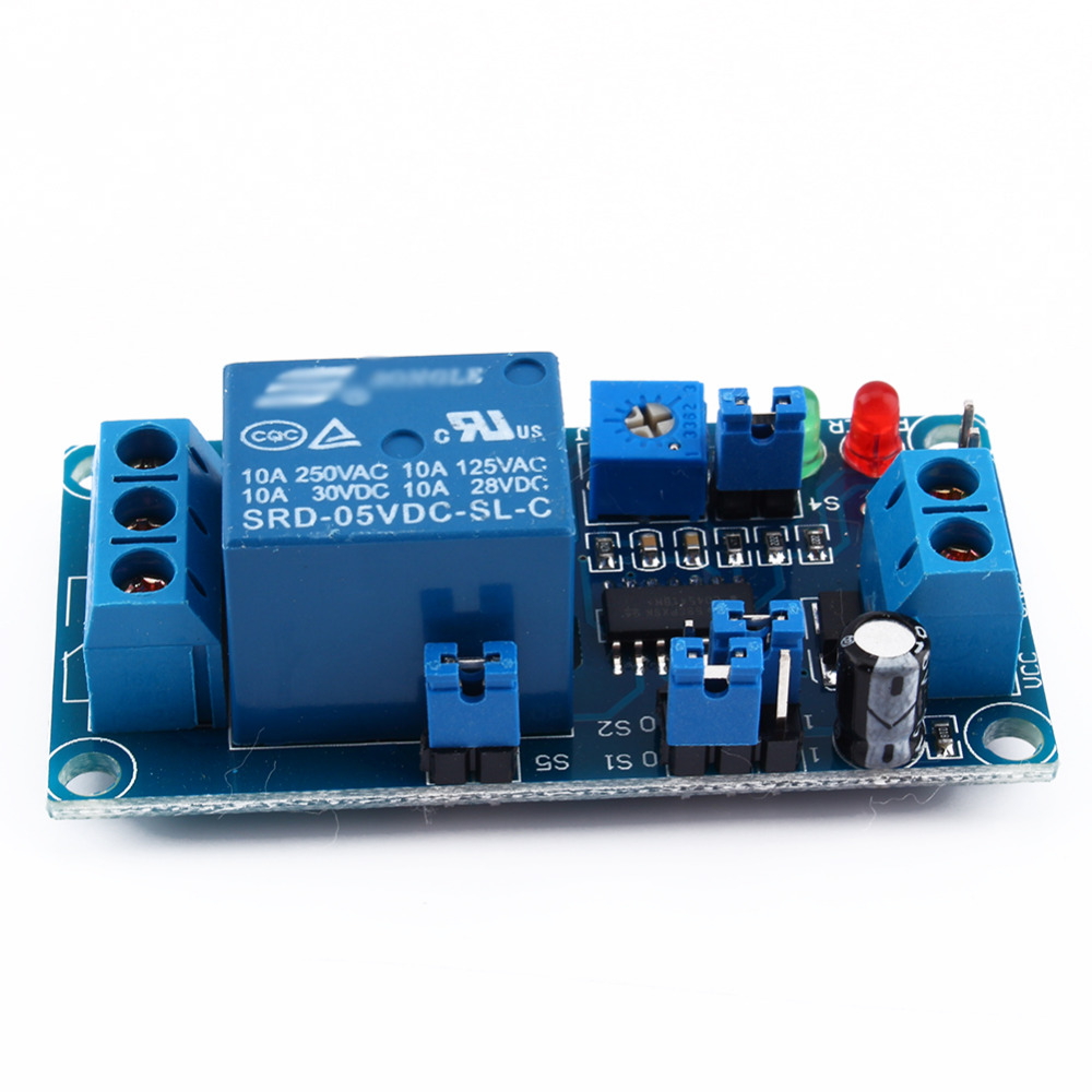 70ma Dc 5v Delay Relay Delay With Timer Turn On Delay Turn Off Switch  Module Hot