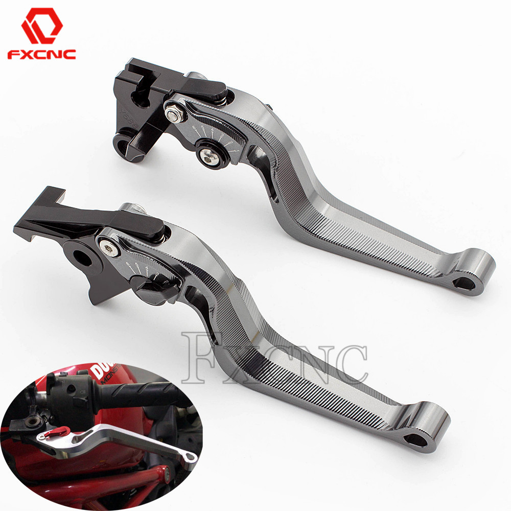 For Honda VARADERO XL125 2004-2013 2012 2011 2000 CNC 3D Snake Aluminum Motorcycle Accessories Adjustable Brake Clutch Levers image