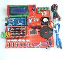 Reprap Рампы 1.4 Комплект С Мега 2560 r3 + Heatbed mk2b + 2004 Контроллер ЖК-ДИСПЛЕЯ + A4988 Драйвер + Концевыми Выключателями + Кабели Для 3D принтер