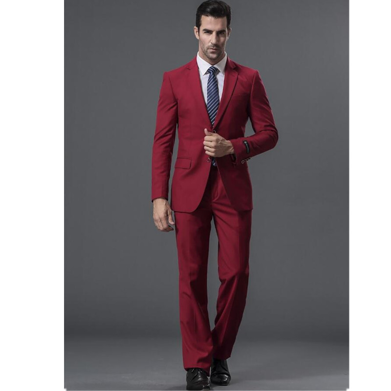 New-men-s-suits-Formal-occasions-men-suit-high-quality-wine-red-collar-single-breasted-wedding (2)