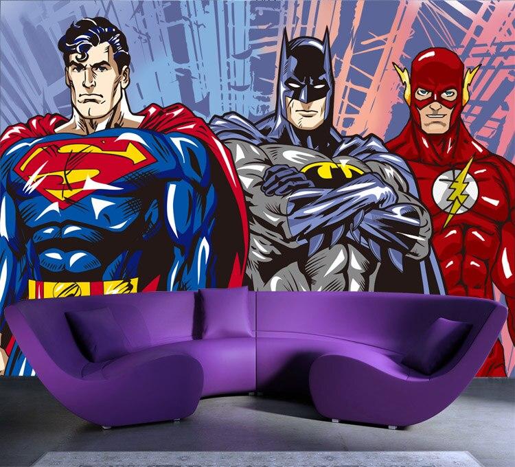 Unique Batman Vs Superman Bedroom Ideas That Rock: Superman Cartoon Wallpapers