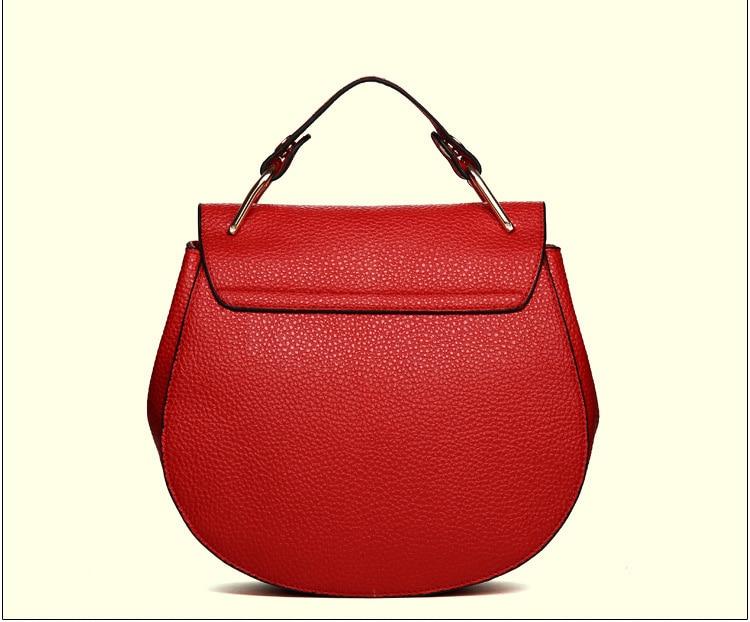 Brand Designer Chain Piggy Bags Fashion Grained Women Handbags (1)