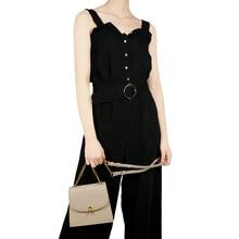 цены на Fashion solid color PU leather ladies handbags high quality handbag designer shoulder bag small chain Messenger bag Messenger ba  в интернет-магазинах