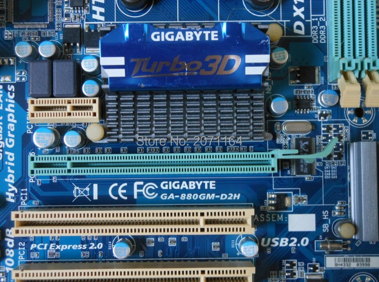 Free shipping for Gigabyte 880GM-D2H motherboard supports AM3AM3 + 938 solid-state interfaces integrated small plate asus g31 g31mx k motherboard supports ddr2 775 pin integrated small plate
