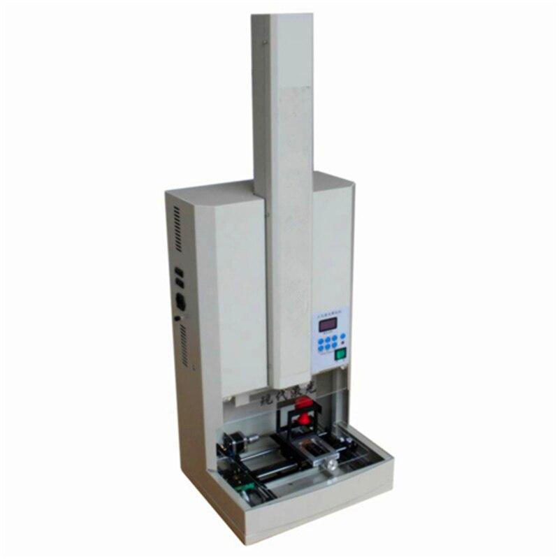 Small Vertical Laser Engraving Machine Stamp Maker Cutting Plotter Stamper Machine