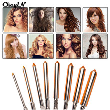 CkeyiN Professional 09-31mm Curling Wand Automatic Hair Curling Tong 110-240V Hair Curling Iron The Wand Hair Curler Roller 35