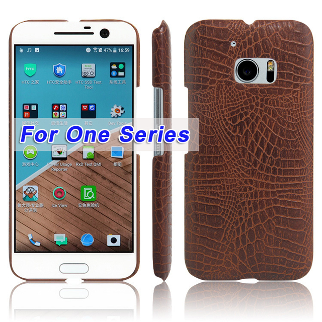 US $4 25 |Phone Case for HTC One M7 M8 M9 M10 Plus Crocodile Patterned  Vintage Leather Cover For HTC U11 Plus One A9 X9 Coque Fundas-in Fitted  Cases