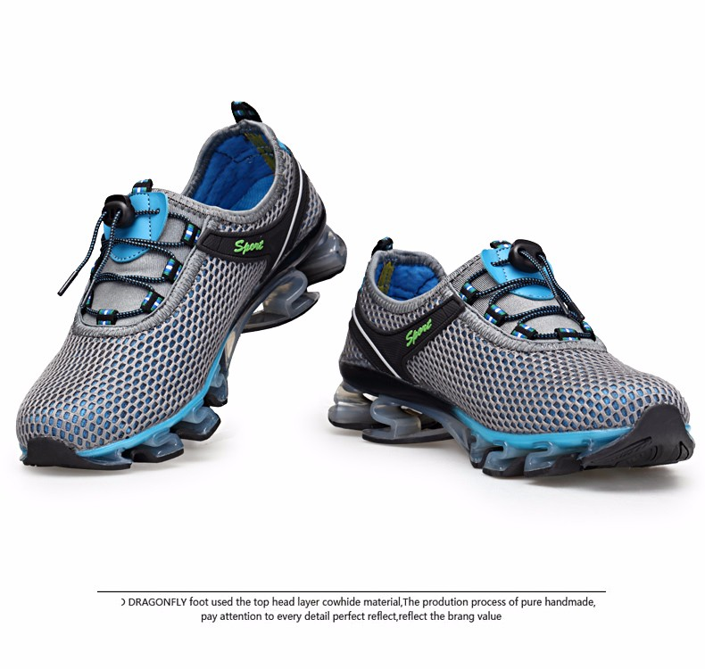 Super Cool breathable running shoes men sneakers bounce summer outdoor sport shoes Professional Training shoes plus size 34