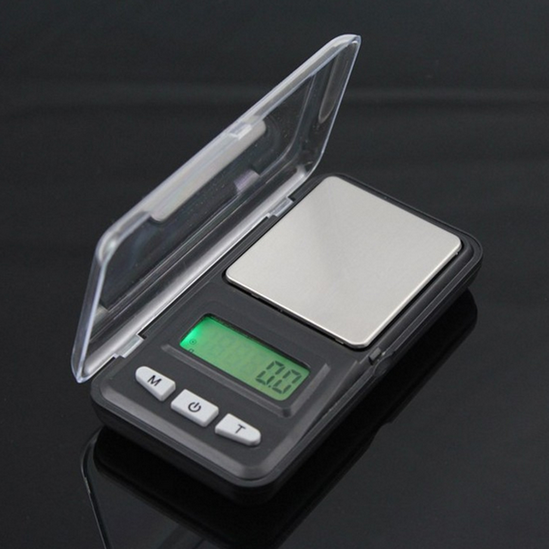 0.01g 200g Pocket Digital Scale Mini Digital Scale Tool Jewelry Gold Balance Weight Gram Green Back-light LCD Display