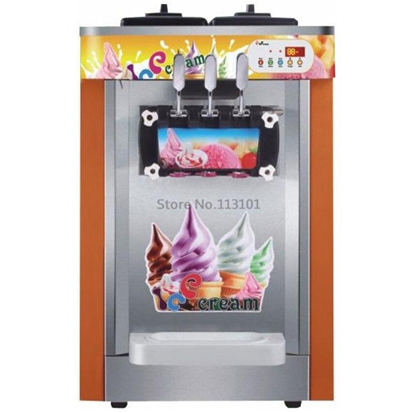 buy soft serve ice cream maker three flavors original brand new ice cream. Black Bedroom Furniture Sets. Home Design Ideas