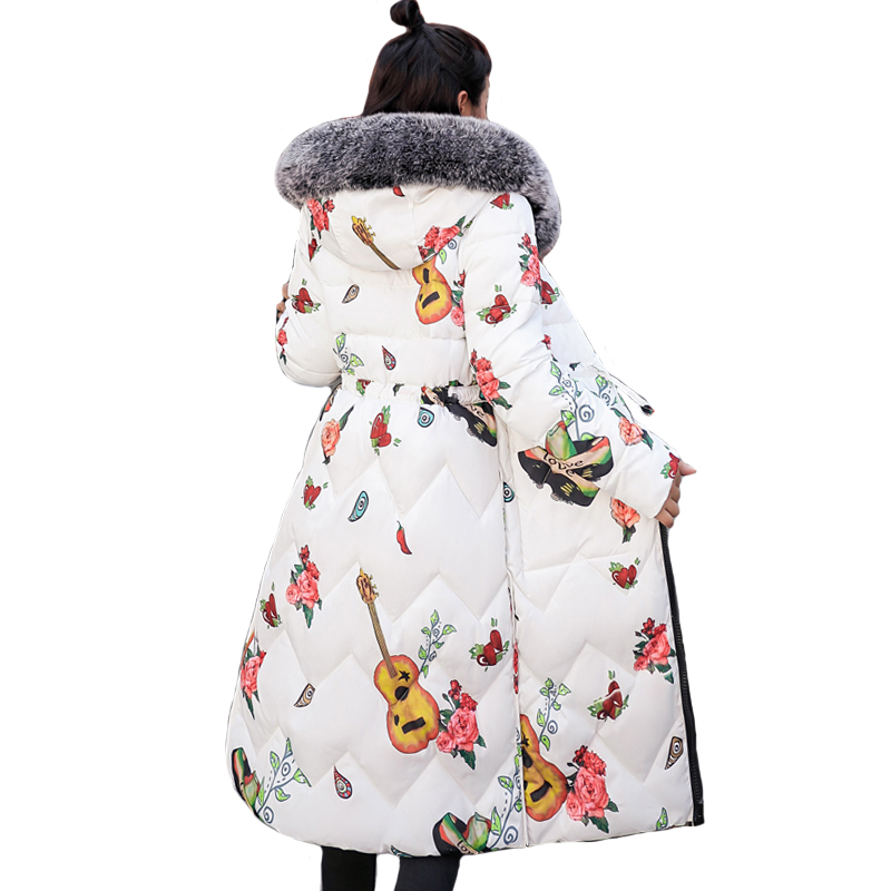 2019 New Arrival Both Two Sides Can Be Wore Women Winter Jacket With Fur Long Padded Warm Coat   Parka   Abrigos Mujer Invierno