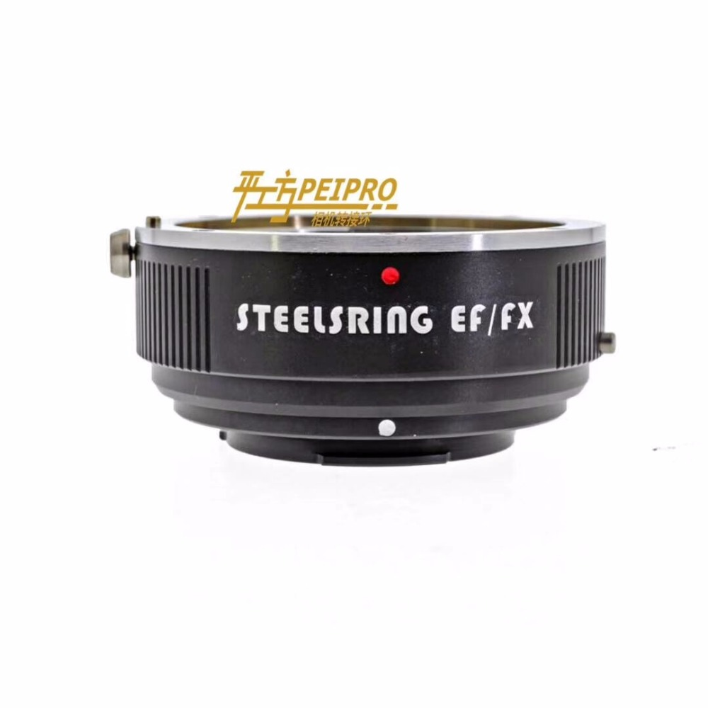 New 2018 STEELSRING EF/FX auto focus lens adapter for Canon EF lens mount to Fujifilm FX cameras viltrox ef nex iii auto focus adapter for canon eos ef ef s lens to for sony e nex a7 a7r a7sii a7ii a6300 a6000 full frame