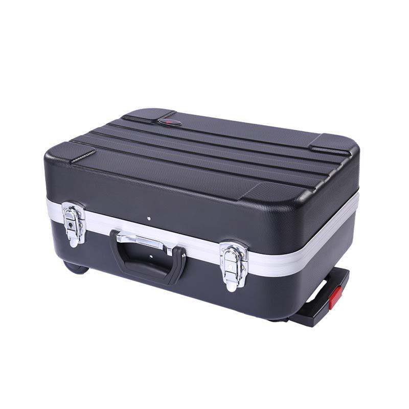 LeTrend Multi function dual ใช้ out Rolling กระเป๋าเดินทางกระเป๋าเดินทาง 20 นิ้วรถเข็นอลูมิเนียมกรอบกล่องกล่องเครื่องมือ-ใน กระเป๋าเดินทาง จาก สัมภาระและกระเป๋า บน   1