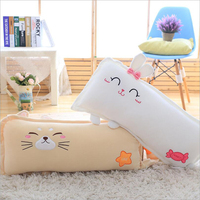 Creative Cartoon Animal Cat Dog Pig Rabbit Doll Plush Toy Stuffed Plush Pillow Gift Send to Children & Girlfriend