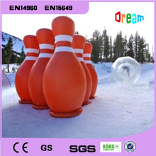 Free Shipping!Inflatable Bowling Bottle Use For Zorb Ball( Human Hamster Ball), 2M Hight Inflatable Bowling