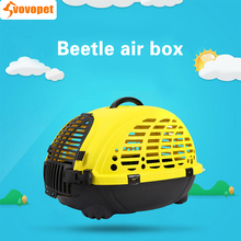 VOVOPET Pet Dog Carrier Beetle pet air box Dogs cats carry car bags safe convenient carriers