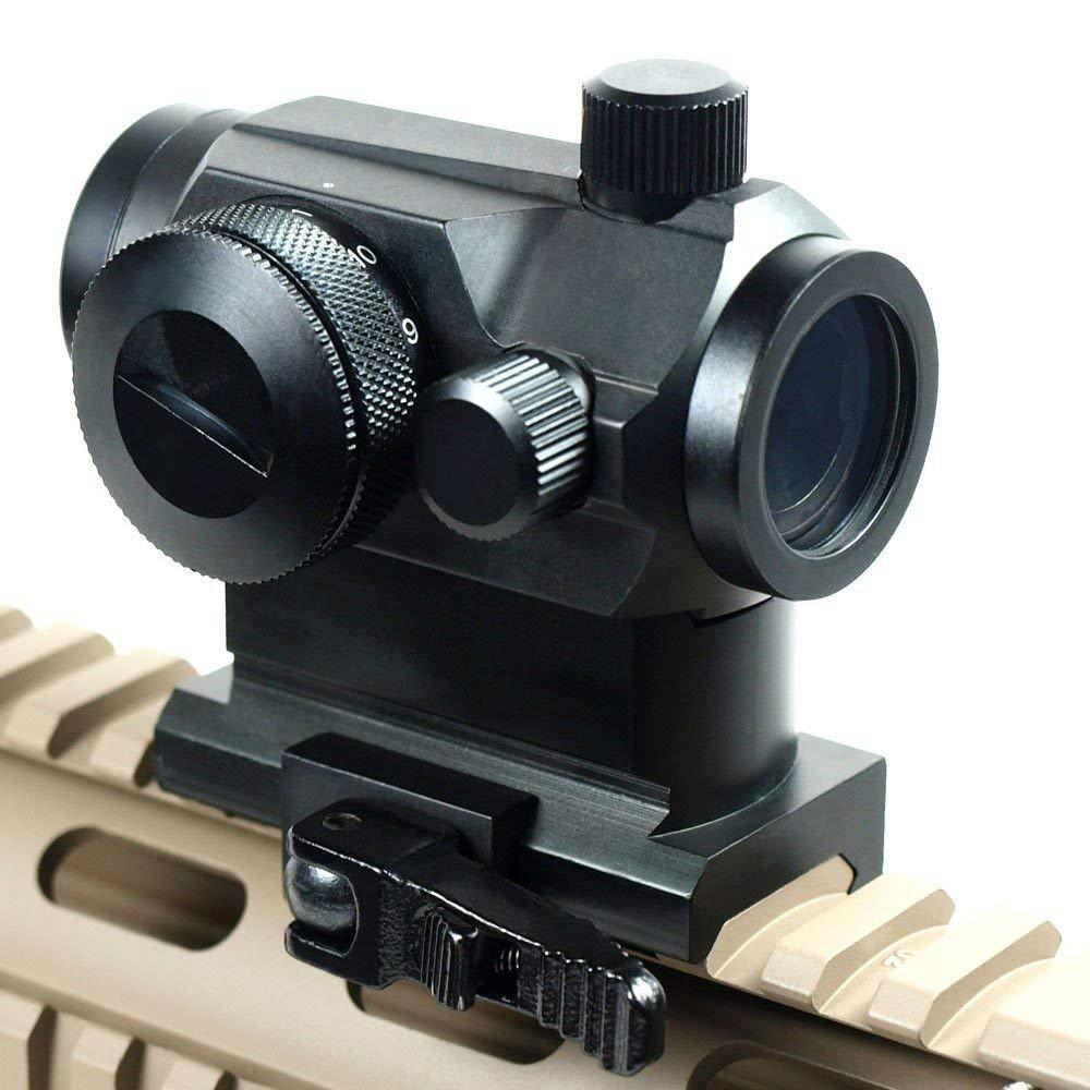 Taktické svítilny Sight Světelné Elektro Zelená a Červená Dot Sight Rozsah s Quick Release Red Dot Scope Mount pro lov