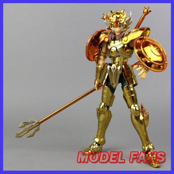 MODEL FANS Instock Aurora Model Cs Model Saint Seiya EX Libra Dohko Action Figure Cloth Myth Metal Armor