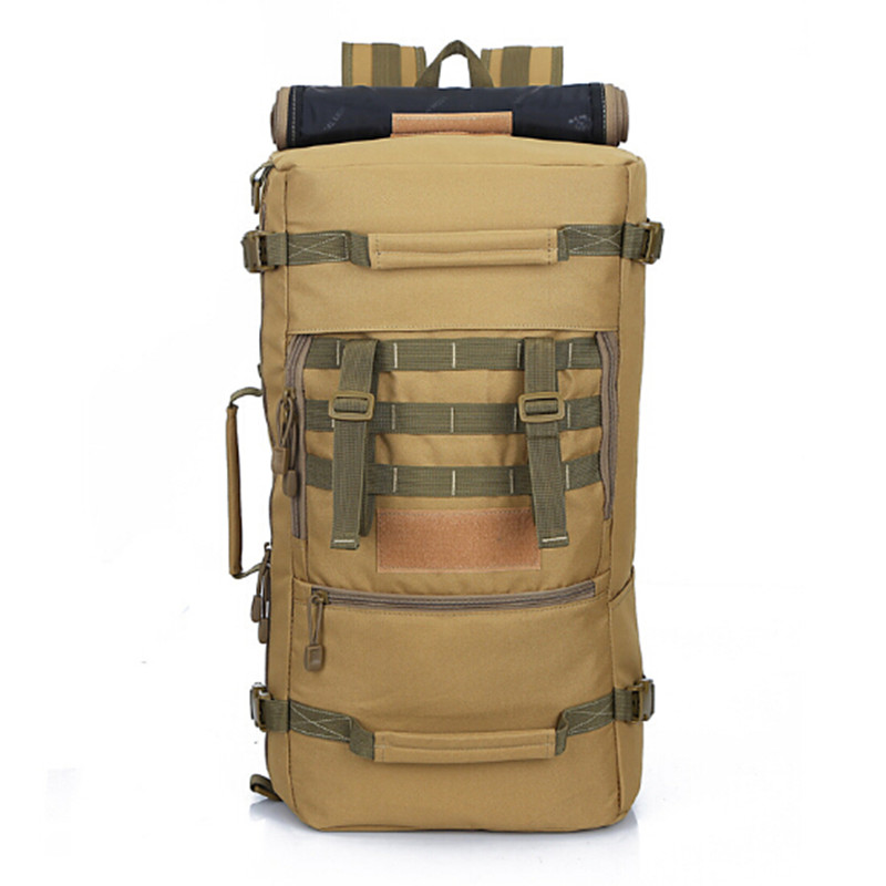 Molle Equipment Military Tactics Backpack Rucksack 50L for Men Camouflage Travel Big Capacity Daily Pack Shoulder Bags for Women 2016 military tactics backpack men travel bags camouflage waterproof crossbody shoulder bag pack army bag bolso mochila l60