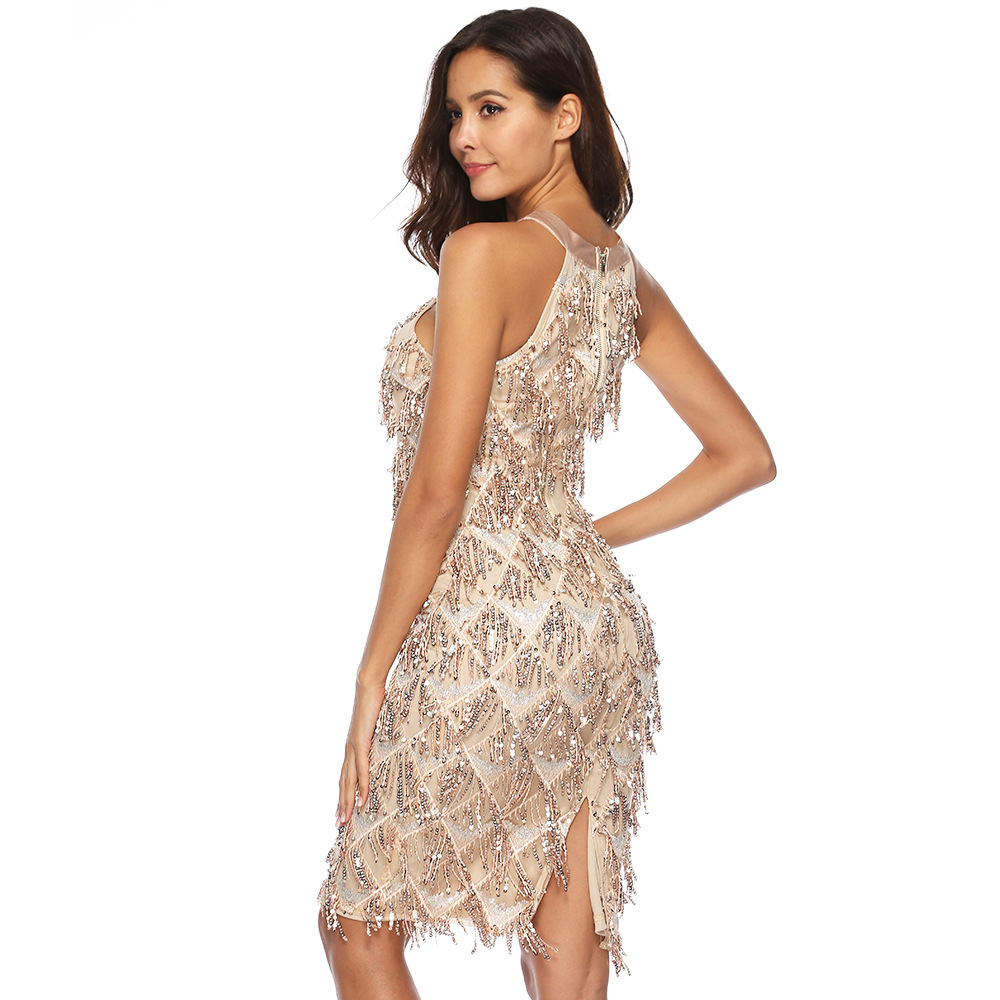 Detail Feedback Questions about MUXU Sleeveless fringe Sexy Party ... c3ff94886363