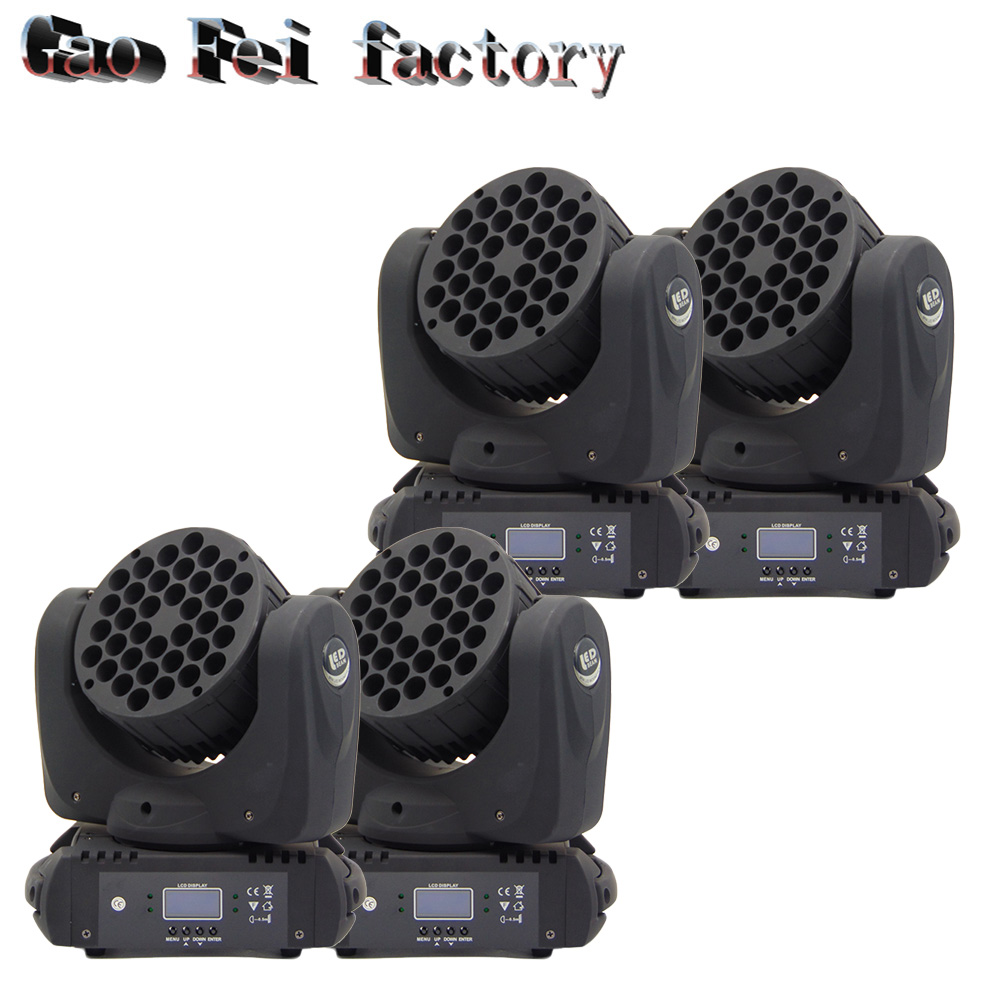 2017 New Arrival 36*3W Beam Moving Head Light RGBW LED Wash Moving Stage Lighting