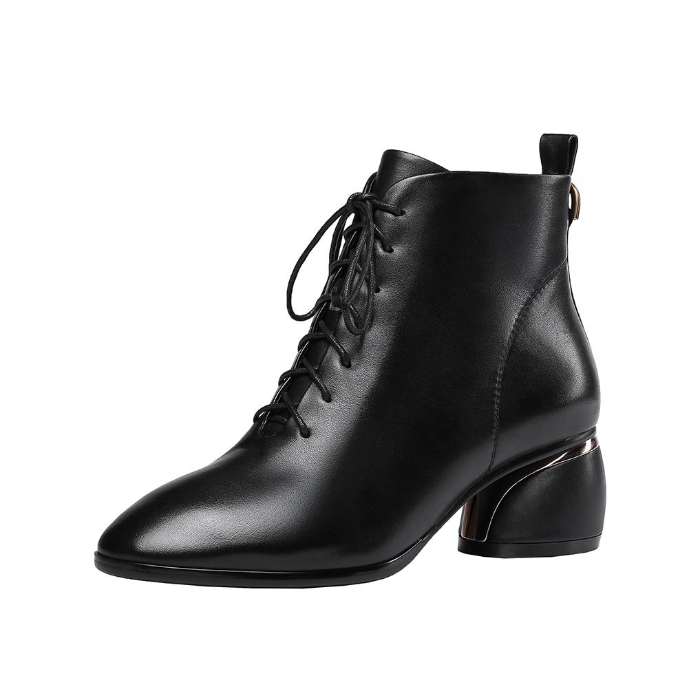 83b69e01aae40b Mode noir Véritable Bottes Offre Cuir Beige Vache Eleagnt Naturel Nouveau  Femmes De En Cheville Femme Chaussures ...