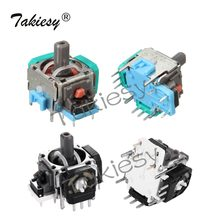 Takiesy 2pcs 3D Analog Joystick Thumbstick replacement repair parts Sensor Module Potentiometer For Dualshock 4 PS4 Controller(China)
