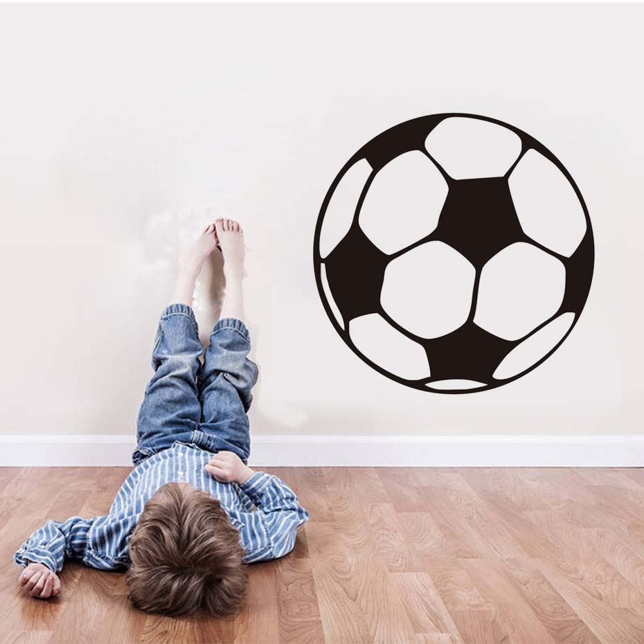 20 Pieces Football Glow In The Dark Ceiling Wall Art Fun Luminous Stickers