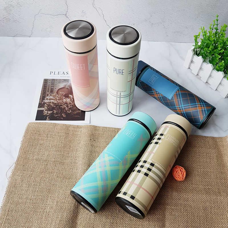 Mulheres 500 ml caneca térmica Garrafa Térmica de aço Inoxidável Balão de Viagem Vácuo xícara de Chá caneca de Café garrafa térmica garrafa térmica garrafa de água