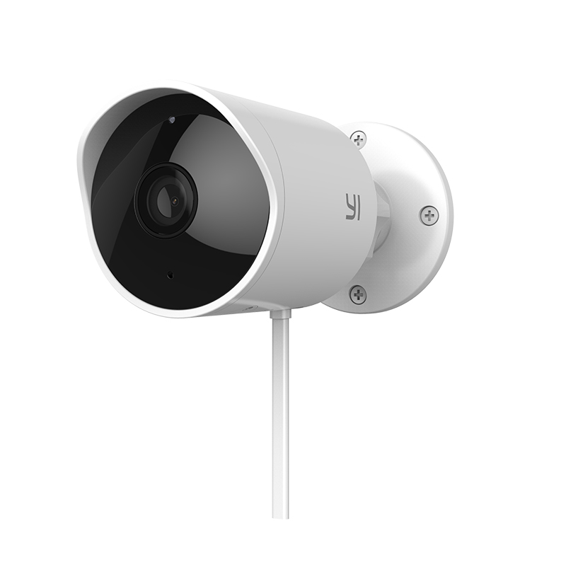 Image 3 - YI Security Camera 2.4G With SD Card & Could Wireless IP Cam Resolution Waterproof Night Vision Surveillance Outdoor Cam System-in Surveillance Cameras from Security & Protection