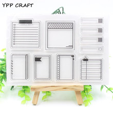 YPP CRAFT Sticky Note Transparent Clear Silicone Stamp/Seal for DIY scrapbooking/photo album Decorative clear stamp