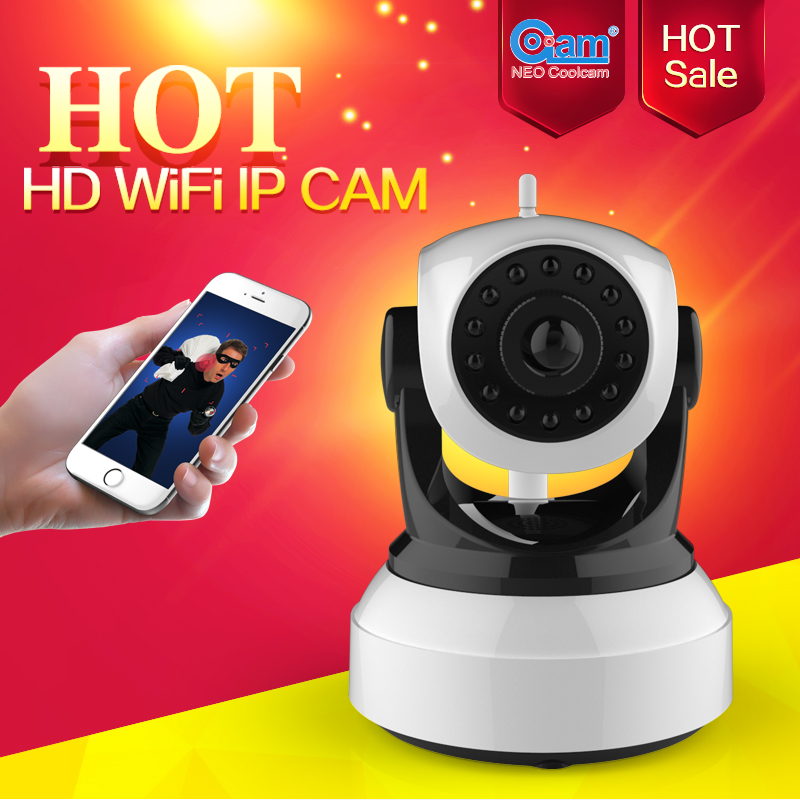 NEO Coolcam NIP-51F2G HD Wifi Ip Camera, Wireless P2P CCTV 720P IP Camera And Onvif,Free APP.