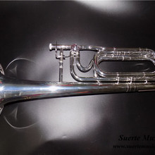 F/Bb тромбон двойной слайд тромбон посеребренный колокольчик 236,5 мм с Чехол и мундштук, музыкальные инструменты профессиональные