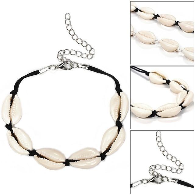Women's Boho Style Cowrie Shell Bracelet 5