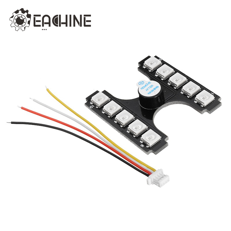 купить Original Eachine Wizard X220S FPV Racer Spare Part Taillight Tail LED Light with Loud Buzzer for Racing RC Drone Accessories DIY недорого
