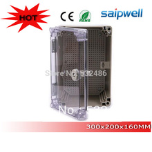 cheap ip66  large plastic waterproof boxes 300*200*160mm
