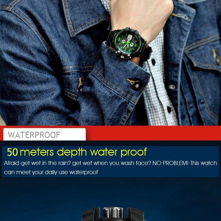 นาฬิกาข้อมือดีไซต์สปอร์ต