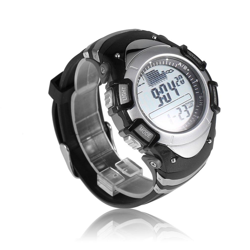 Digital Fishing Watch Barometer 3ATM Waterproof Sport Wrist Watches for Men Thermometer Altimeter Fishing Watches reloj clock