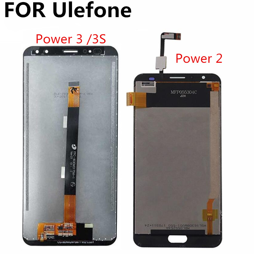 FOR Ulefone 3 Power3s Power 2 LCD Display+Touch Screen Digitizer Assembly Replacement for Ulefone poder 3 s lcd