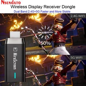 Image 2 - Двухдиапазонный 5G/2,4G 1080P Беспроводной Miracast DLNA AirPlay HDMI медиа ТВ приемник Wi Fi Дисплей зеркального отображения Экран ТВ палка