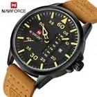 Top Luxus Naviforce Männer Sport Uhren Herren Quarz Datum Uhr Mann Leder Armee Military Armbanduhr Relogio Masculino