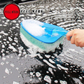 Newest Car body Sponge Brush Car Truck Motorcycle Bicycle Washing high-efficient Cleaning duster brush free shipping