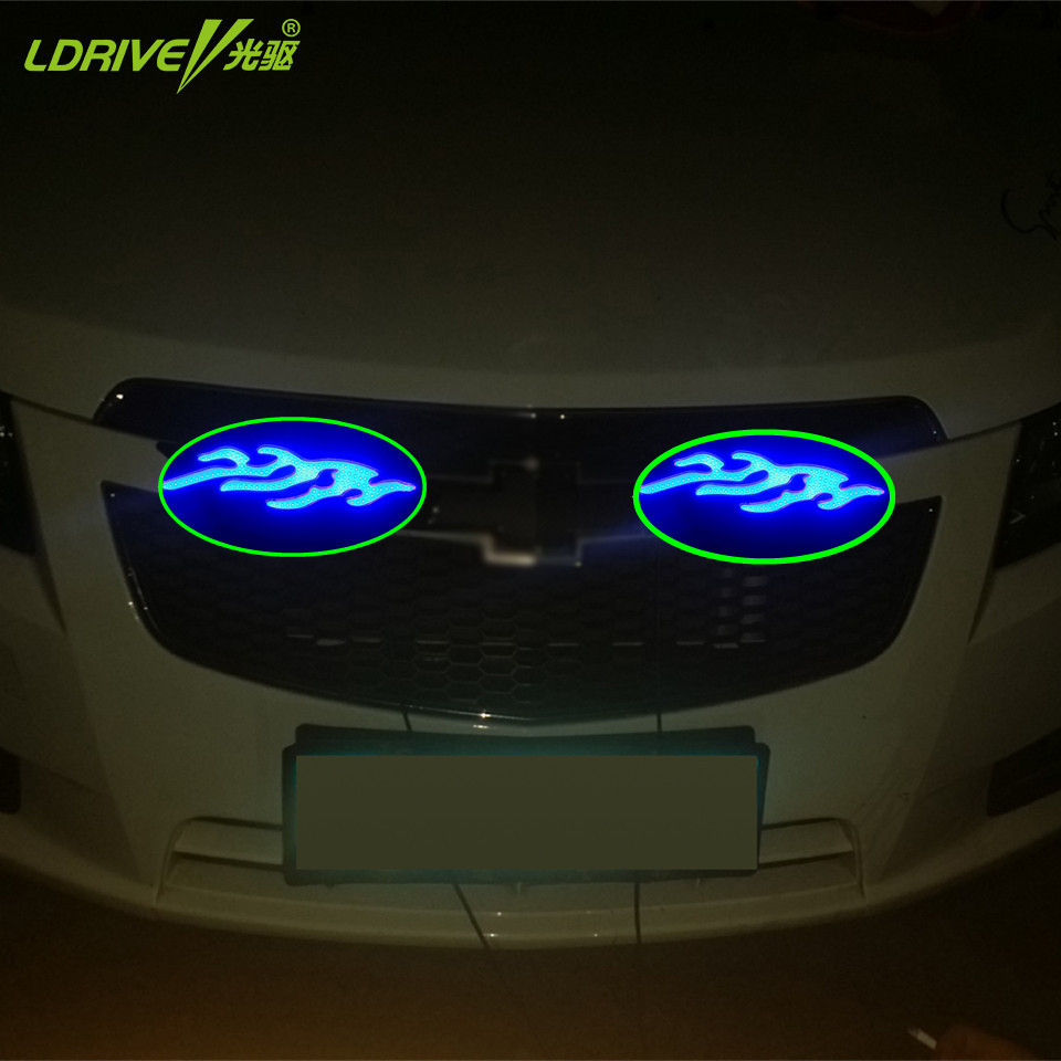 New Design Blue Cob Led Silicon Car Daytime Running Light