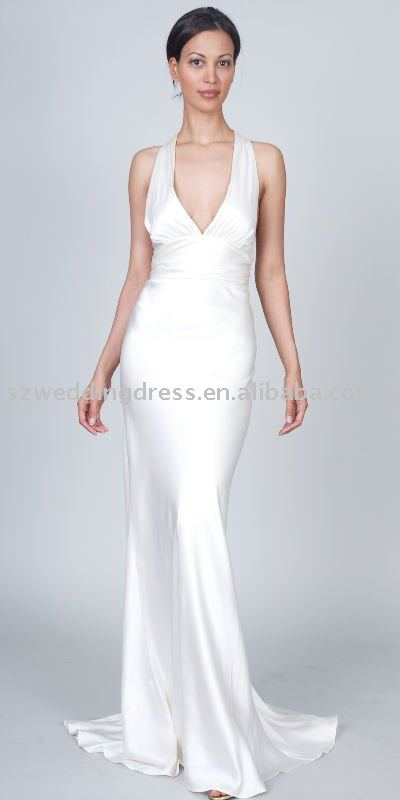 Collection Simple White Evening Gowns Pictures - Homeas