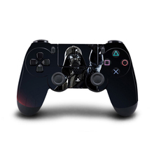 4PCS PS4 Star Wars Controller Skin Sticker Decal Cover for Playstation4 PS4 Wireless Controller